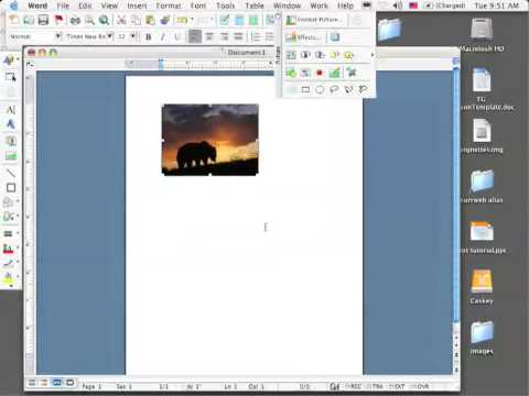 Tutorial Resizing And Moving Images In Word Youtube