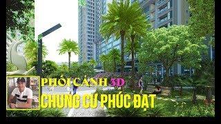 Phối cảnh 3D Chung Cư Phúc Đạt Connect | Khu Đô Thị Phúc Đạt