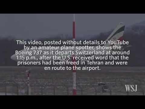 Iranian Jet Picking Up Cash From U.S. - 28-12-2016