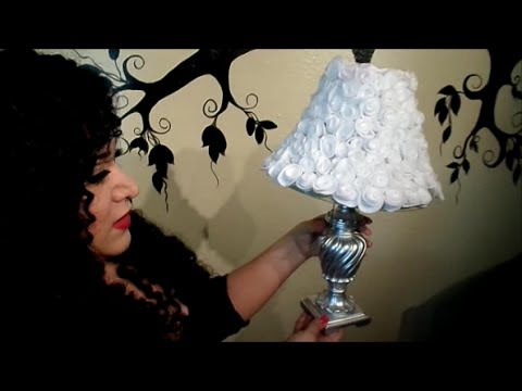 DIY Decora tu lampara facil YouTube