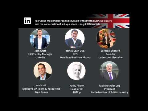 UK Business Leaders Share 5 Ideas for Attracting and Retaining Millennials [Podcast]