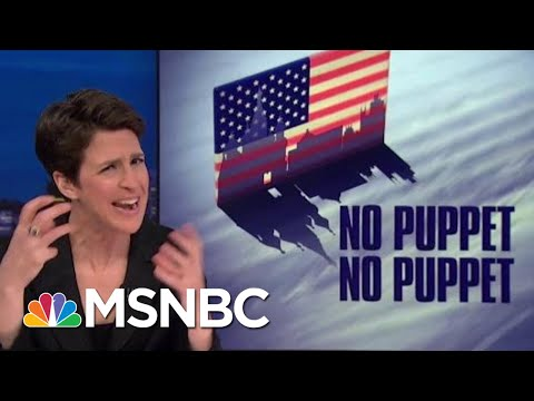 President Trump Curiously Well Versed In Specific Russian Talking Points | Rachel Maddow | MSNBC