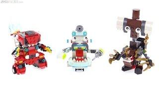 LEGO Mixels Series 8 Maxes - MCFD, Medix, Pyrratz!