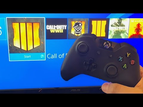 PS4 Player tries BLACK OPS 4 on XBOX...