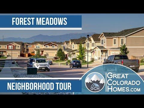 Forest Meadows in Colorado Springs, CO   Neighborhood Tour