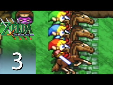 The Legend of Zelda: Four Swords Adventures - Episode 3: Hyrule Castle