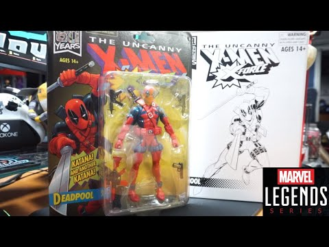Marvel Legends Vintage Deadpool X-Force 80th Anniversary Retro Exclusive