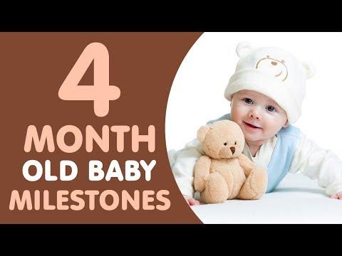 4 Months Old Baby Milestones