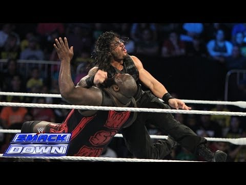 Mark Henry vs. Roman Reigns: SmackDown, Dec. 27, 2013