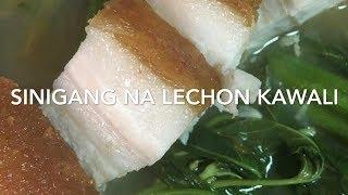 Sinigang na Lechon Kawali / Crispy Pork Sinigang || Chel Javier #20