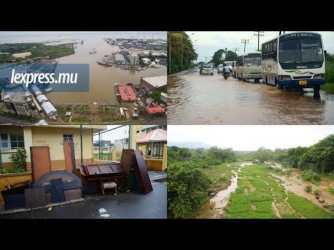 Bilan des averses: Port-Louis et les Plaines-Wilhems prennent l'eau