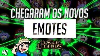 🔴 Os Novos Emotes do League of Legends - Divertidos ou Provocativos ?