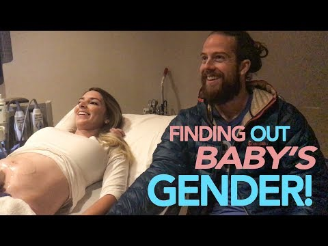 FINDING OUT OUR BABY'S GENDER!