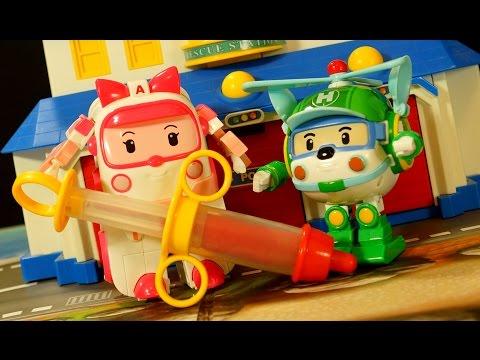 Робокар Поли и Плей ДО :) Игрушки и Мультики на русском для Детей