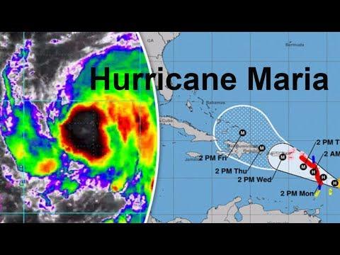 LIVE: WEBCAM HURRICANE MARIA OFF THE COAST OF PUERTO RICO