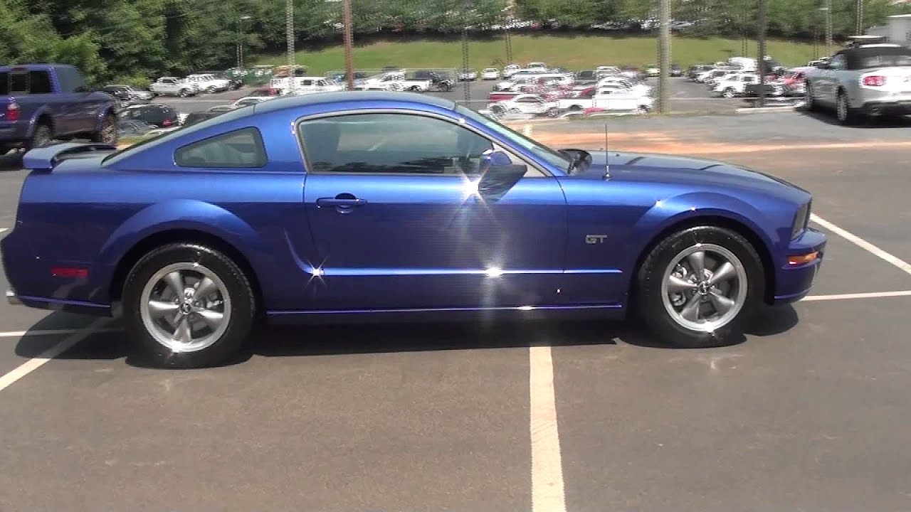 For sale 2005 ford mustang gt 1 owner only 3ok miles giddy up stk p5653