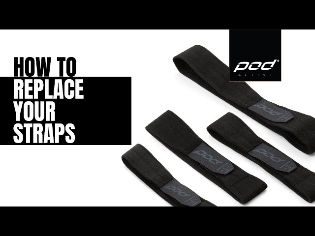 POD K-Series Knee Braces - How to Replace your Straps