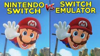 Super Mario Odyssey | Nintendo Switch vs Yuzu Emulator on PC - Graphical Comparison