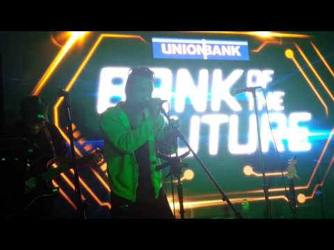 Enzo Luna sings the Winning Song Melt With You At Union Bank Media Thanksgiving Party