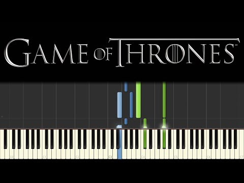 Jenny of Oldstones - Game of Thrones (Piano Tutorial + sheets) - 동영상