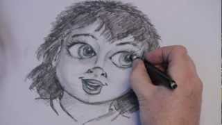 Learn How to Draw a Young Girl