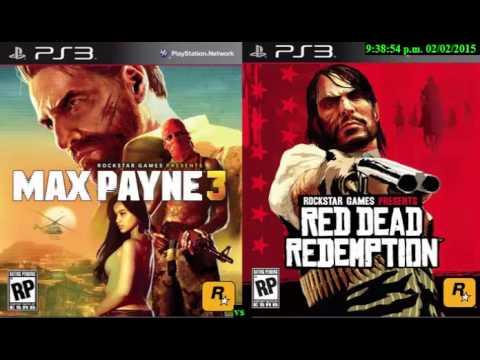 Max Payne 3 vs Red Read Redemption - Analisis de Juegos #1