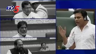 IT Minister KTR Rocks In TS Assembly With His Proven Answers | Telugu News | TV5 News