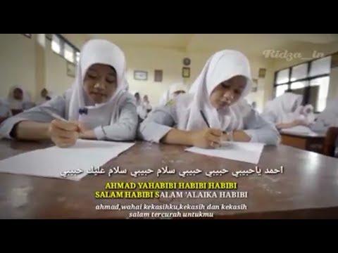 Sholawat AHMAD YA HABIBI Lirik Arab|latin|terjemah