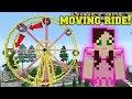Minecraft MOVING FERRIS WHEEL RIDE!!!  HERO FAIR 2
