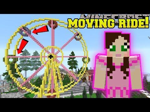 Minecraft: MOVING FERRIS WHEEL RIDE!!! - HERO FAIR [2]