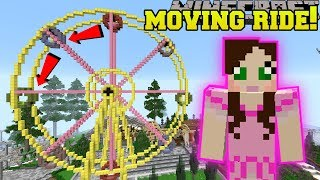 Minecraft: MOVING FERRIS WHEEL RIDE!!! - HERO FAIR [2]