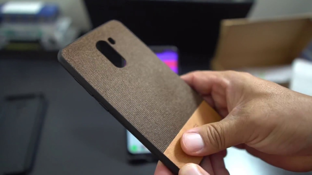Pocophone F1 Top Cases Youtube Tempered Glass Full Xiaomi