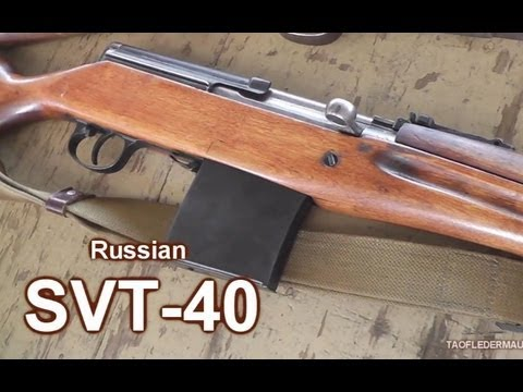 "The Russian ""M1 Garand""  WW2  SVT-40 Rifle"