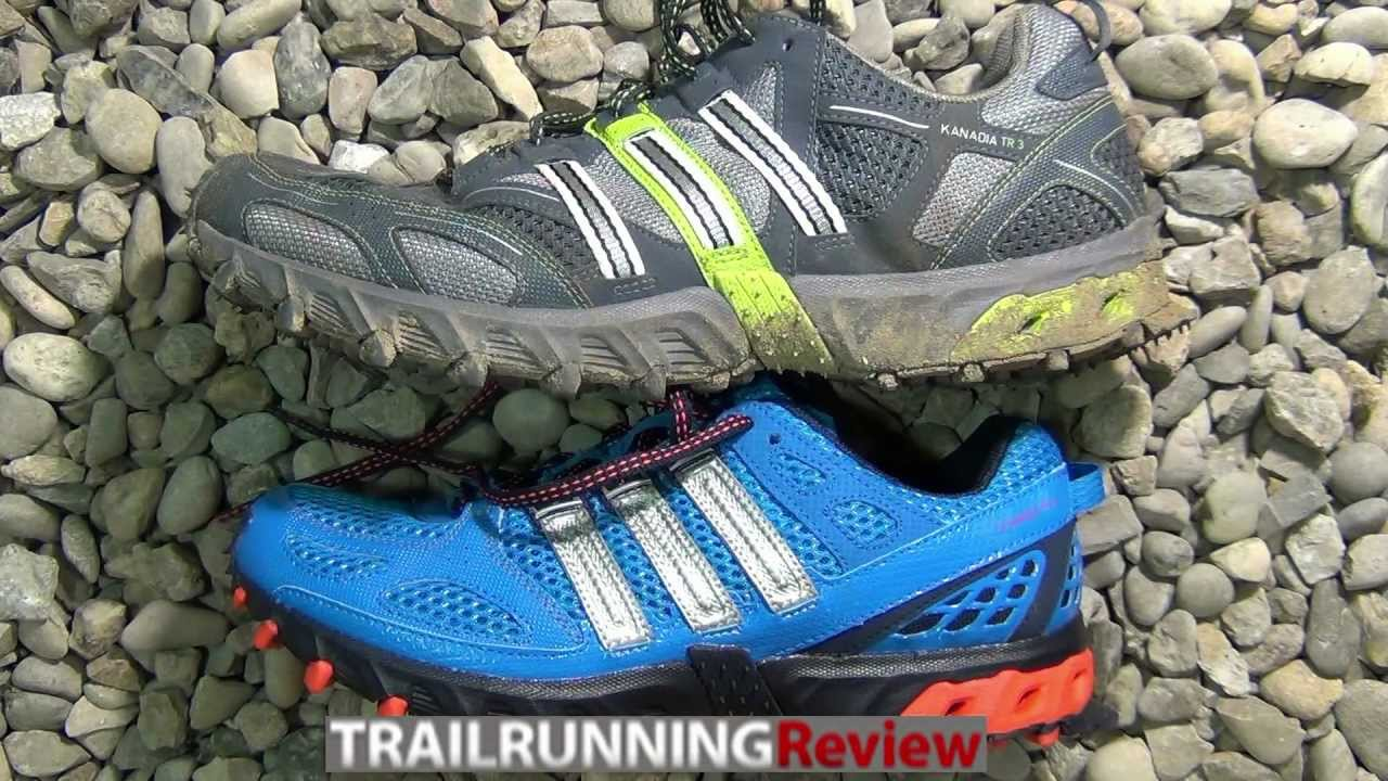 Acompañar Invertir Hacia arriba  Adidas Kanadia TR 4 VS Adidas Kanadia TR 3 Review - YouTube