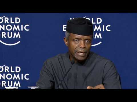 Vice President Nigeria in World Economy Conference (Davos) 2017