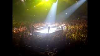 Kofi Kingston Entrance - Wembley Arena 4th November 2012.