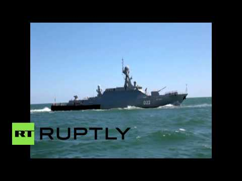 Russia: Russian Navy victorious in 2015 Caspian Sea Cup