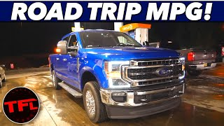 I Drove The New 2020 Ford F-250 800 Miles - Here's How Much Fuel It Used!