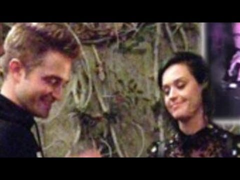 Katy Perry & Robert Pattinson BESANDOSE Escondidos