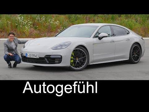 The fastest! Porsche Panamera Turbo S Hybrid FULL REVIEW Racetrack acceleration 2018 - Autogefühl