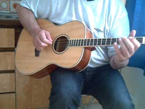 Tenor Guitar GDAE- Boys of Bluehill - YouTube