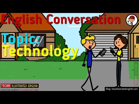 Illustrated Conversations | Topic 5 - Technology | Elementary Level