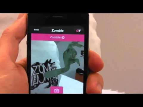 Zombie Hunter Augmented Reality T Shirt - Available to Buy