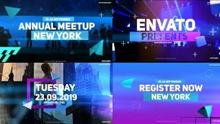 Event Opener | After Effects template
