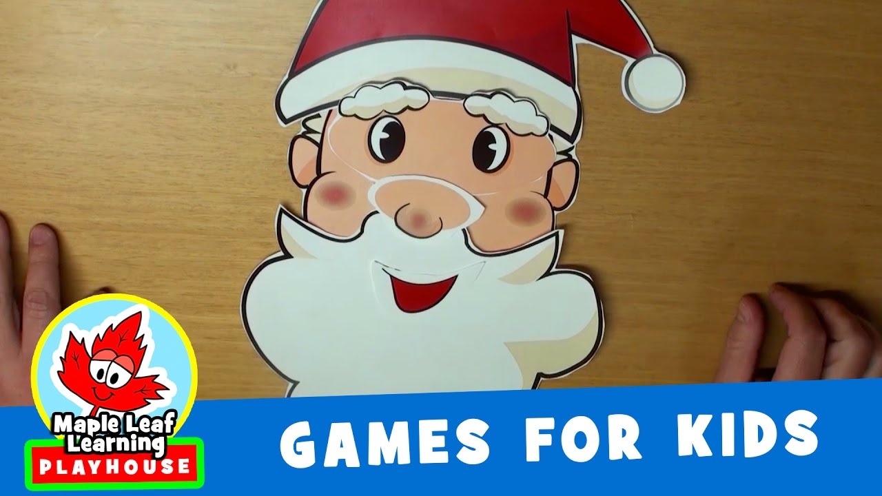Santa Dice Christmas Game for Kids | Maple Leaf Learning Playhouse ...