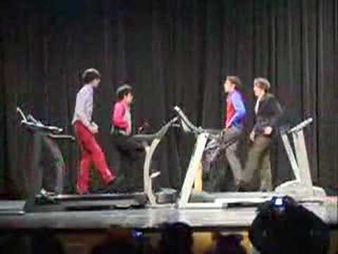 Ok Go - Here It Goes Again Talent Show