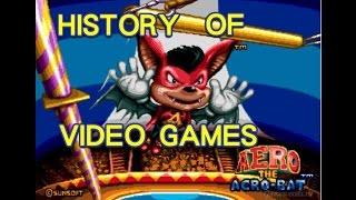 History of Aero the Acro-Bat (1993-2002) - Video Game History