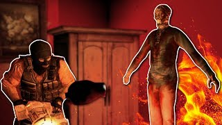 POLTERGEISTS & GHOSTS! - Garry's Mod Horror Maps - The Hunt! Ep.1