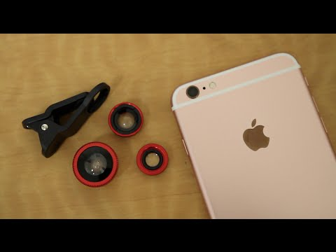 Add Camera Lenses To Your Smartphone! - GoGo Robots Camera Lens Kit Review