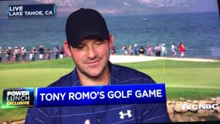 Tony Romo on Transition from NFL player to announcer